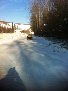 Ditch on Sunday after piston bully pass
