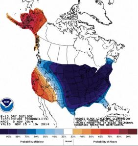 6-10 day temp outlook