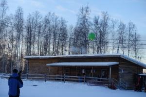 Green lantern rises