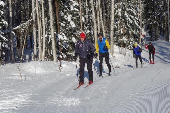 Mid March ski