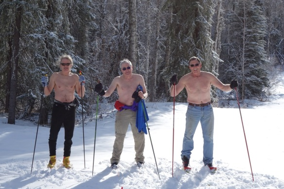 3 shirtless skiers_sm