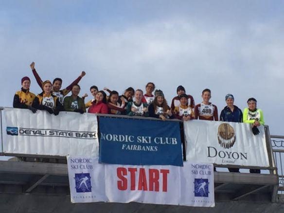 Dimond High team at Sonot Start