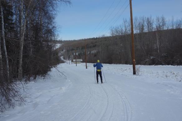Eric on West Ski Road trail