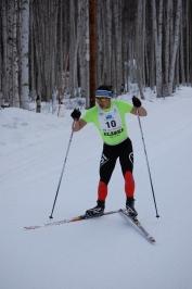 50 km winner Takagi