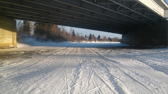 Steese Hwy bridge after