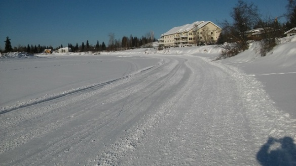 Chena River trail near Hamilton Acres sm