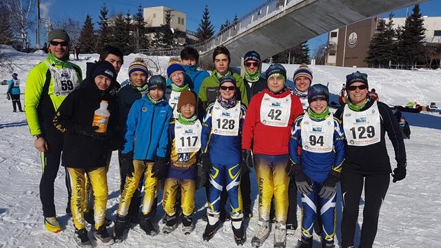 Galena team on snow