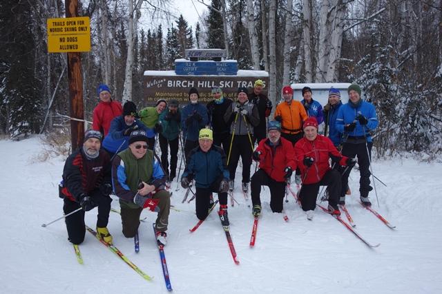 First SCUM ski of 2018-19 season