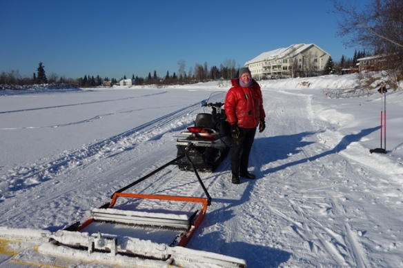 Bad Bob and his drag on Chena River_1 Mar 2019sm.JPG